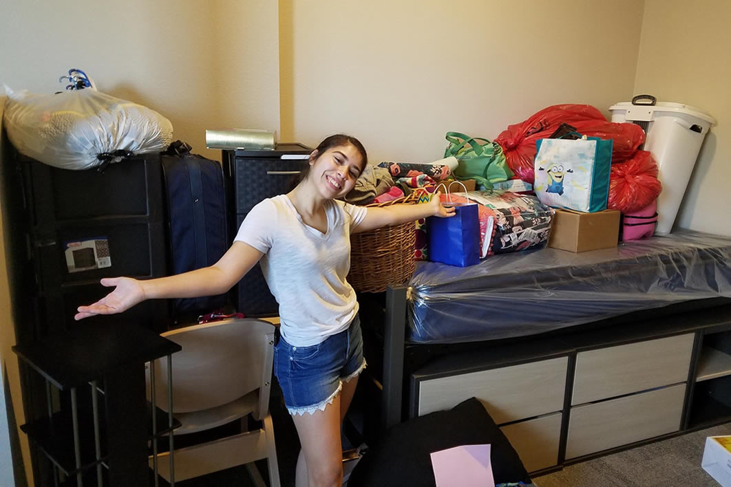 Time to unpack!