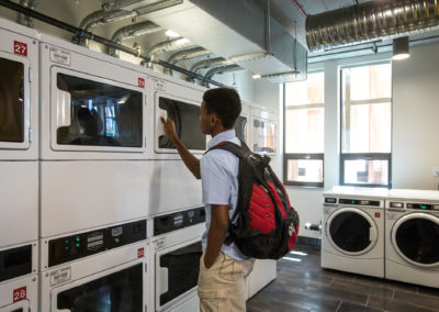 """Smart"" laundry appliances message students when laundry is ready"