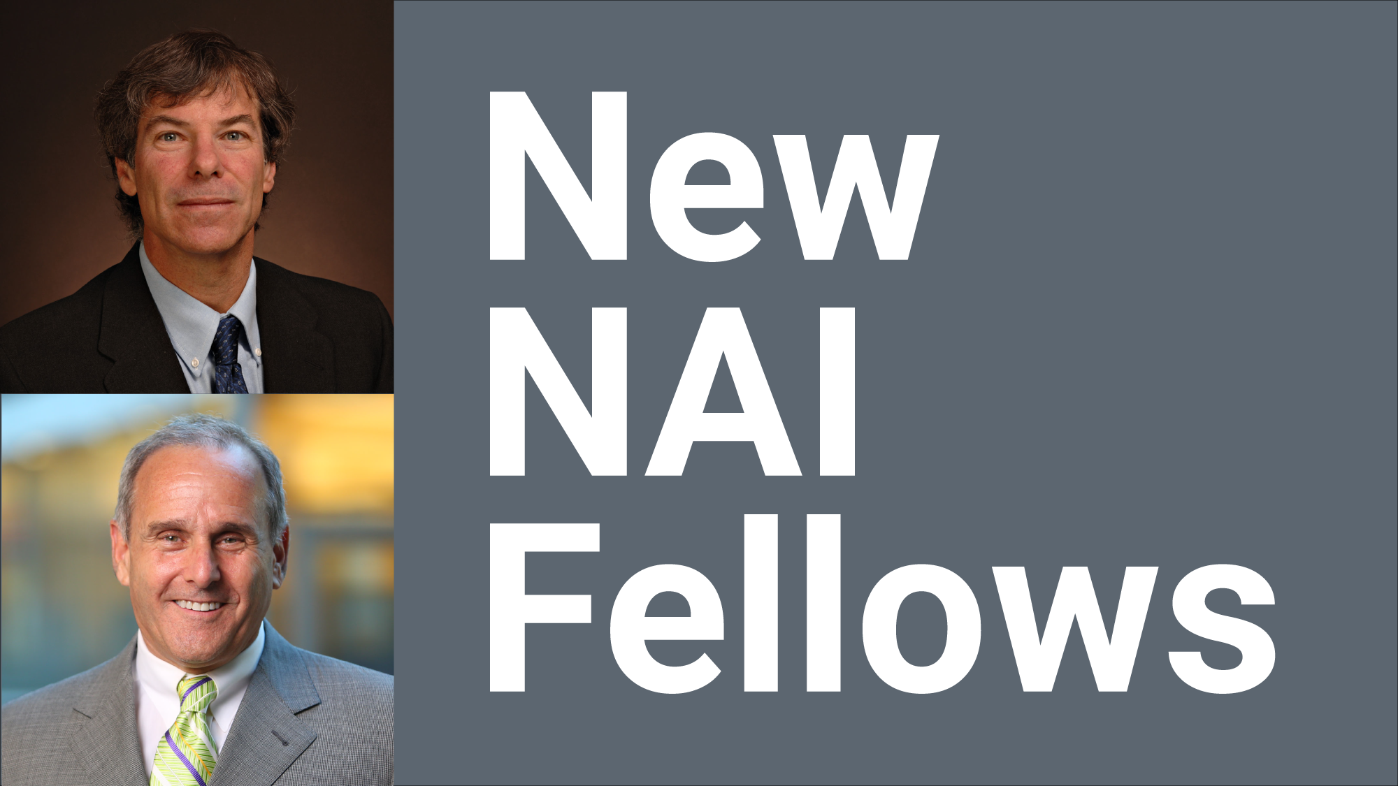 "Arizona State University researchers Joshua LaBaer and Nathan Newman are ""New NAI Fellows"""