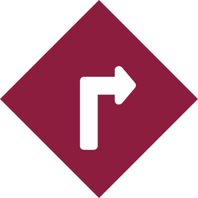 Icon of a square with a right arrow