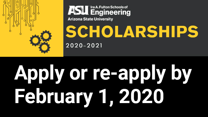 Apply or re-apply for Fulton Schools scholarships by Feb 1, 2020