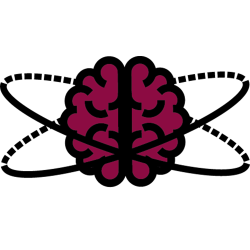 scientific brain icon