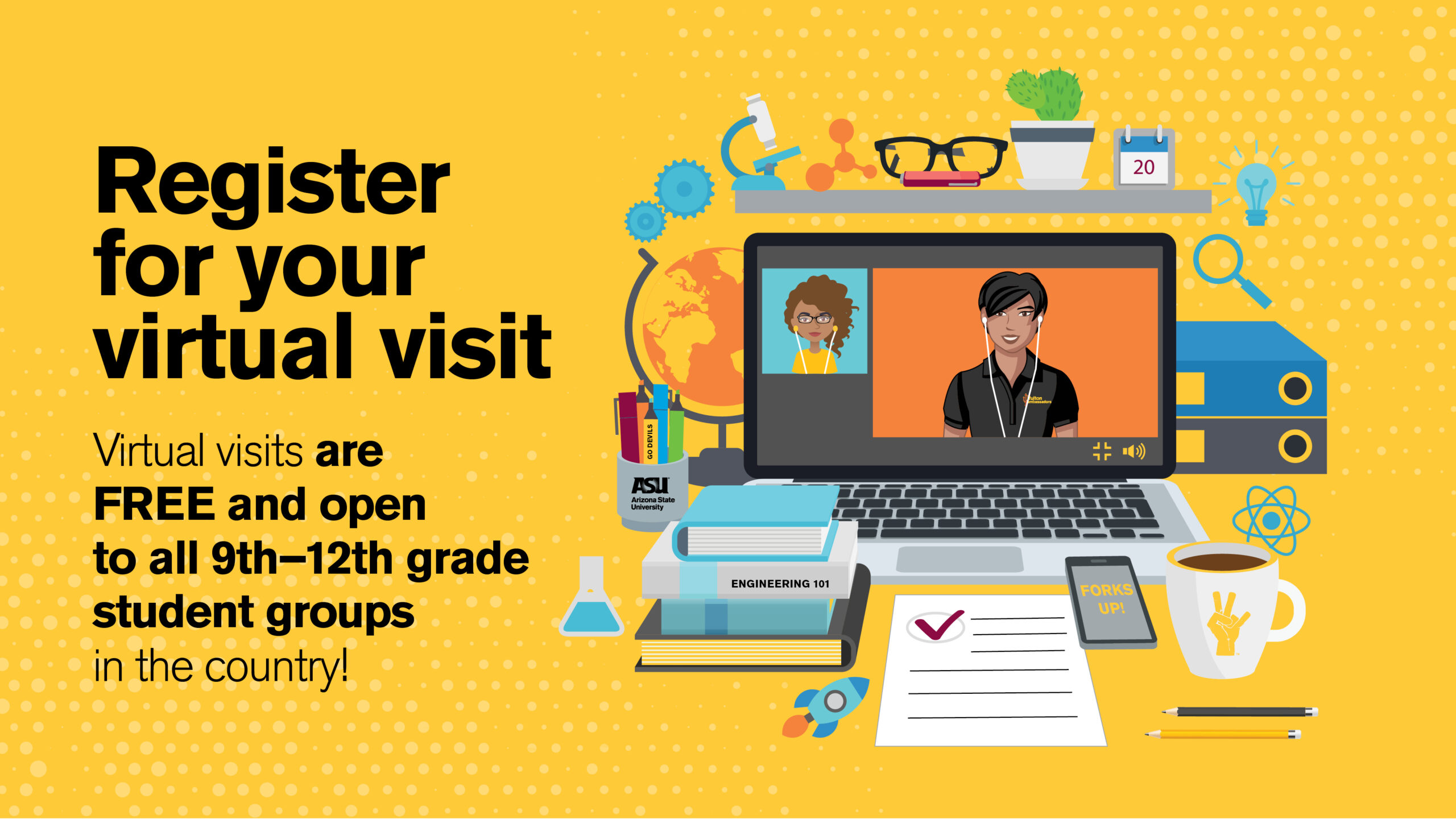 Sign up for the More to Explore virtual session to learn about campus