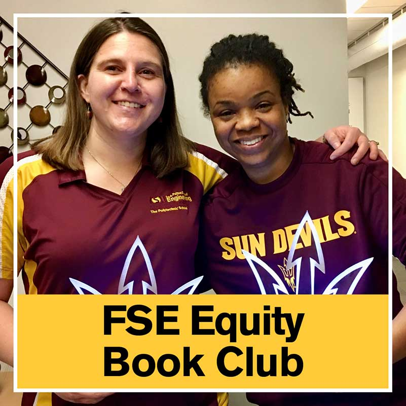 Jennifer Bekki and Brooke Cooley, the co-founders of the FSE Equity Book Club
