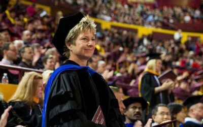 Beloved aviation faculty receives her wings